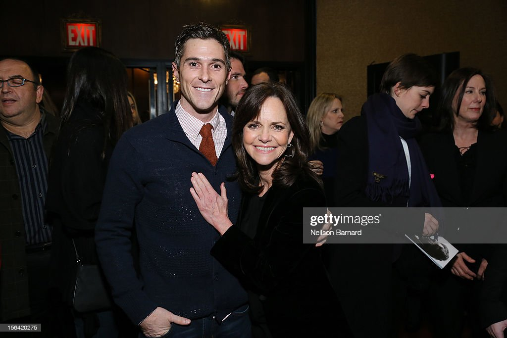 Actors Dave Annable and Sally Field attend the special screening of Steven Spielberg's 'Lincoln' at the Ziegfeld Theatre on November 14, 2012 in New York City.