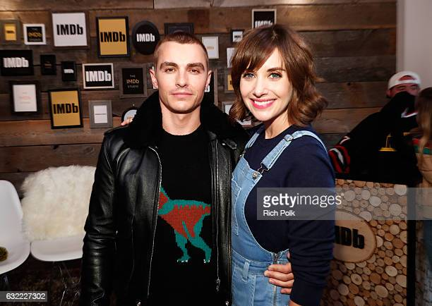 Actors Dave Franco and Alison Brie of 'The Little Hours' attend The IMDb Studio featuring the Filmmaker Discovery Lounge presented by Amazon Video...