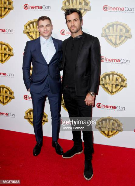 Actors Dave Franco and Justin Theroux attend Warner Bros Pictures 'The Big Picture' an exclusive presentation of our upcoming slate at The Colosseum...
