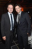 Actors David Arquette and James Marsden attend IWC Schaffhausen celebrates 'Timeless Portofino' Gala Event during Art Basel Miami Beach to mark the...