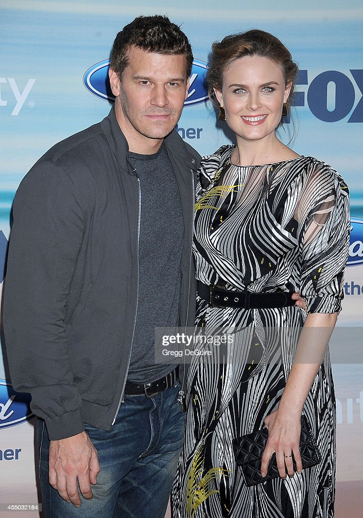 David Boreanaz And Emily Deschanel 2014 David Boreanaz | Getty...