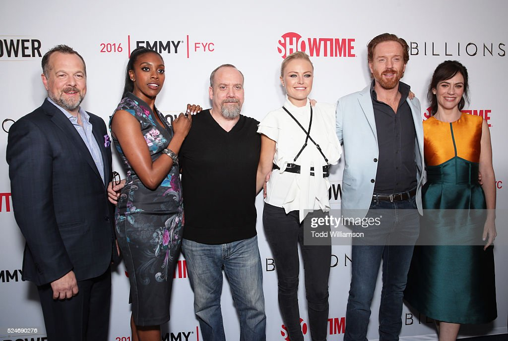 Actors David Costabile Condola Rashad Paul Giamatti Malin Akerman Damian Lewis and Maggie Siff attend For Your Consideration Screening and Panel for...