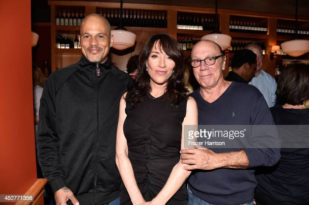 Actors David Labrava Katey Sagal and Dayton Callie attend Twentieth Century Fox Television's ComicCon Stars Producers Cocktail Party during ComicCon...