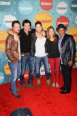 Actors David Lyons Billy Burke JD Pardo Tracy Spiridakos and Giancarlo Esposito attend Entertainment Weekly's Annual ComicCon Celebration at Float at...