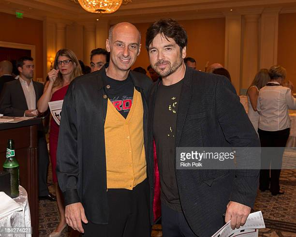 Actors David Marciano and Jason Gedrick attend the 7th Annual Ante Up For Autism Event At The St Regis Monarch Beach Resort on October 12 2013 in...