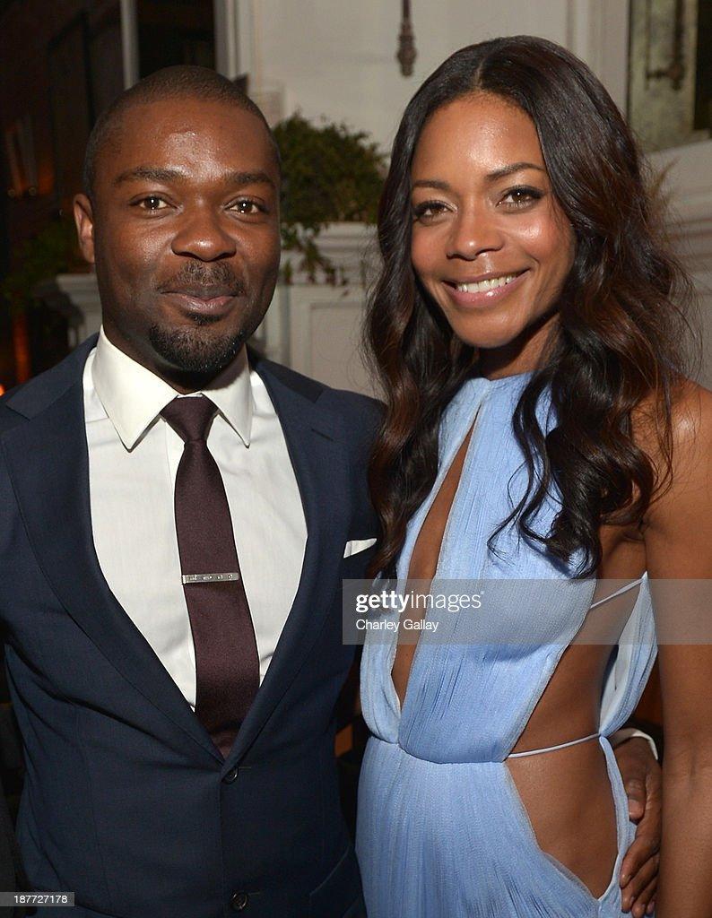 Actors <a gi-track='captionPersonalityLinkClicked' href=/galleries/search?phrase=David+Oyelowo&family=editorial&specificpeople=633075 ng-click='$event.stopPropagation()'>David Oyelowo</a> (L) and <a gi-track='captionPersonalityLinkClicked' href=/galleries/search?phrase=Naomie+Harris&family=editorial&specificpeople=238918 ng-click='$event.stopPropagation()'>Naomie Harris</a> attend the after party for 'The Weinstein Company Presents The LA Premiere Of 'Mandela: Long Walk To Freedom' Supported By Burberry' at Warwick on November 11, 2013 in Los Angeles, California.