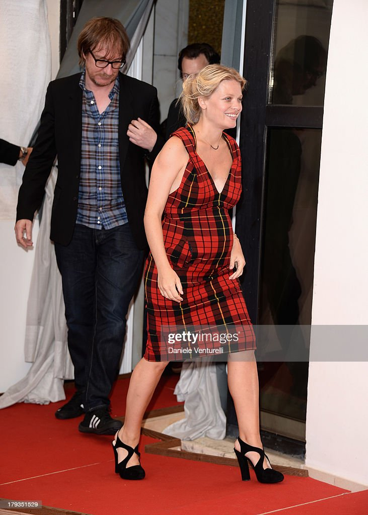 Actors David Thewlis and Mélanie Thierry attend 'The Zero Theorem' Photocall during the 70th Venice International Film Festival at Palazzo del Casino on September 2, 2013 in Venice, Italy.
