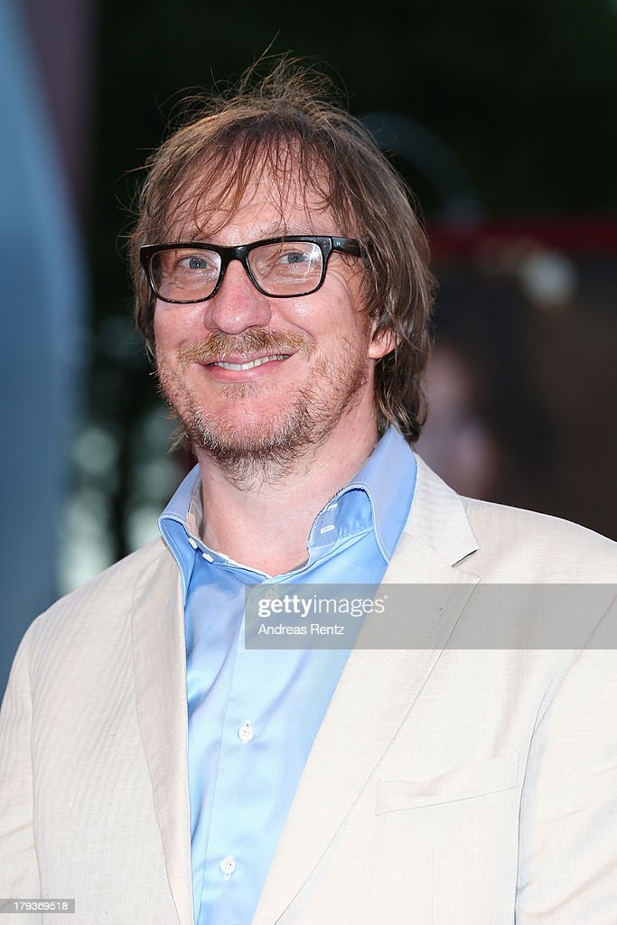 Actors David Thewlis attends 'The Zero Theorem' Premiere during the 70th Venice International Film Festival at the Palazzo del Cinema on September 2...