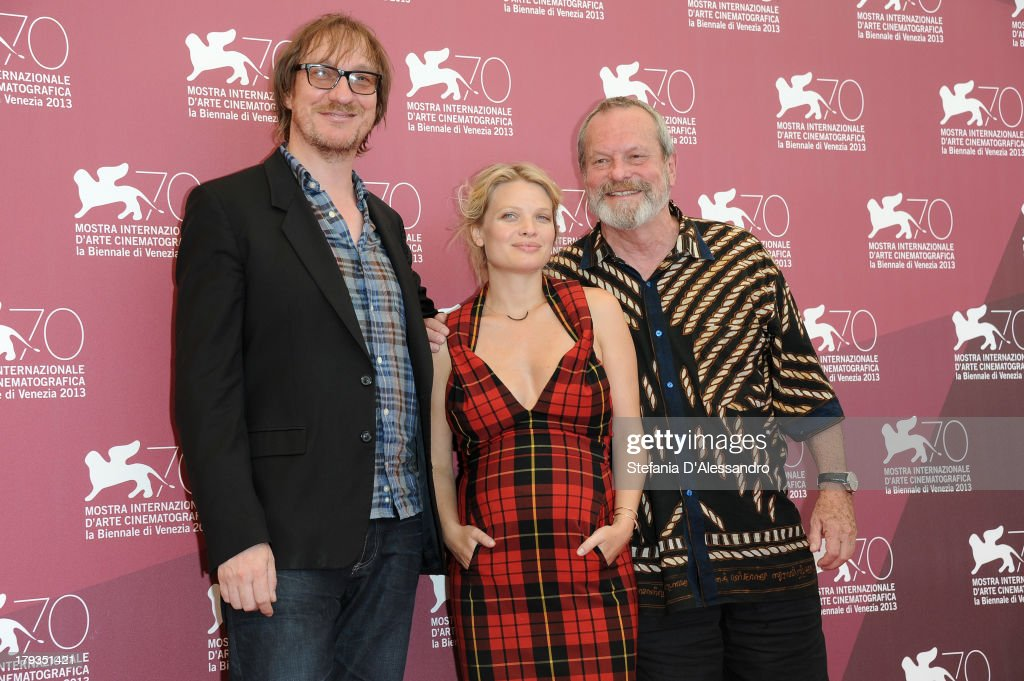Actors <a gi-track='captionPersonalityLinkClicked' href=/galleries/search?phrase=David+Thewlis&family=editorial&specificpeople=213624 ng-click='$event.stopPropagation()'>David Thewlis</a>, <a gi-track='captionPersonalityLinkClicked' href=/galleries/search?phrase=M%C3%A9lanie+Thierry&family=editorial&specificpeople=591332 ng-click='$event.stopPropagation()'>Mélanie Thierry</a> and Director <a gi-track='captionPersonalityLinkClicked' href=/galleries/search?phrase=Terry+Gilliam&family=editorial&specificpeople=221636 ng-click='$event.stopPropagation()'>Terry Gilliam</a> attend 'The Zero Theorem' Photocall during the 70th Venice International Film Festival at Palazzo del Casino on September 2, 2013 in Venice, Italy.