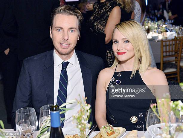 Actors Dax Shepard and Kristen Bell attend the Fifth Annual Baby2Baby Gala Presented By John Paul Mitchell Systems at 3LABS on November 12 2016 in...