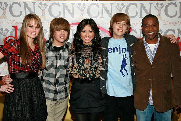 Actors Debby Ryan Dylan Sprouse...