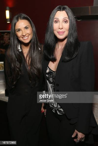Actors Demi Moore and Cher attend Target Presents AFI's Night at the Movies at ArcLight Cinemas on April 24 2013 in Hollywood California