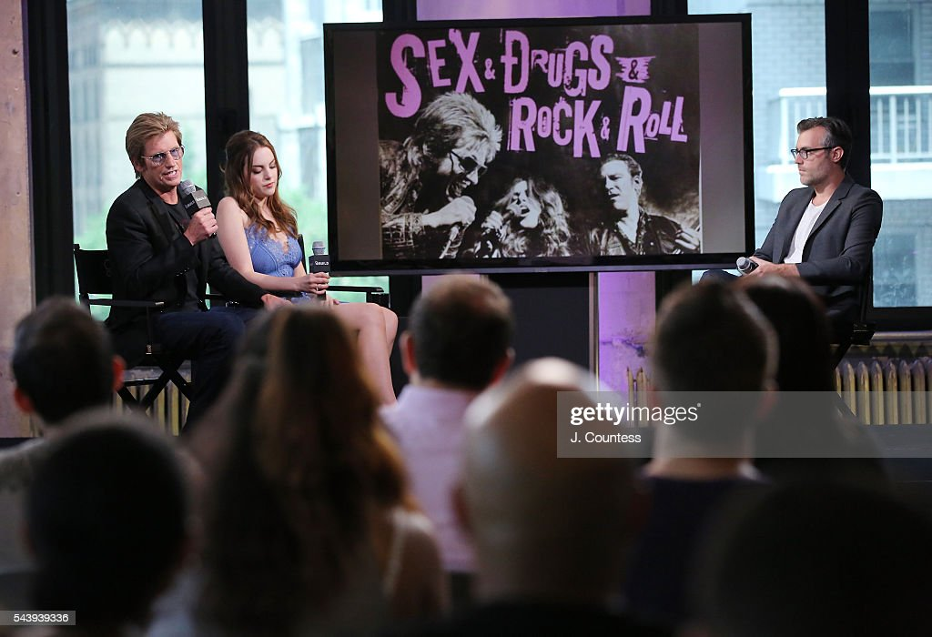Actors <a gi-track='captionPersonalityLinkClicked' href=/galleries/search?phrase=Denis+Leary&family=editorial&specificpeople=204773 ng-click='$event.stopPropagation()'>Denis Leary</a> and <a gi-track='captionPersonalityLinkClicked' href=/galleries/search?phrase=Elizabeth+Gillies&family=editorial&specificpeople=6839338 ng-click='$event.stopPropagation()'>Elizabeth Gillies</a> speak at the AOL Build Presents - <a gi-track='captionPersonalityLinkClicked' href=/galleries/search?phrase=Denis+Leary&family=editorial&specificpeople=204773 ng-click='$event.stopPropagation()'>Denis Leary</a> And <a gi-track='captionPersonalityLinkClicked' href=/galleries/search?phrase=Elizabeth+Gillies&family=editorial&specificpeople=6839338 ng-click='$event.stopPropagation()'>Elizabeth Gillies</a> Discuss Their FX Show 'Sex&Drugs&Rock&Roll' at AOL Studios In New York on June 30, 2016 in New York City.