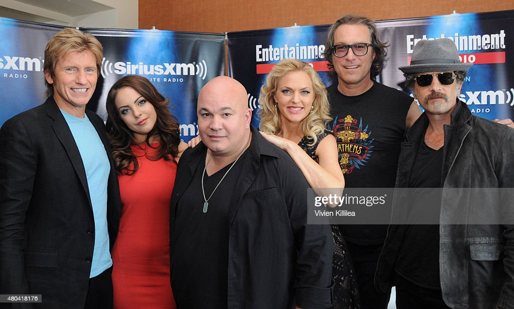 Actors Denis Leary Elizabeth Gillies Robert Kelly Elaine Hendrix John Ales and John Corbett attend SiriusXM's Entertainment Weekly Radio Channel...