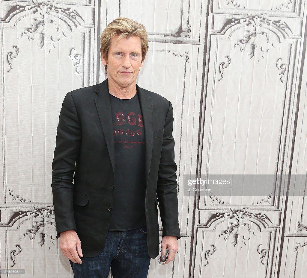 Actors <a gi-track='captionPersonalityLinkClicked' href=/galleries/search?phrase=Denis+Leary&family=editorial&specificpeople=204773 ng-click='$event.stopPropagation()'>Denis Leary</a> poses for a photo at the AOL Build Presents - <a gi-track='captionPersonalityLinkClicked' href=/galleries/search?phrase=Denis+Leary&family=editorial&specificpeople=204773 ng-click='$event.stopPropagation()'>Denis Leary</a> And Elizabeth Gillies Discuss Their FX Show 'Sex&Drugs&Rock&Roll' at AOL Studios In New York on June 30, 2016 in New York City.