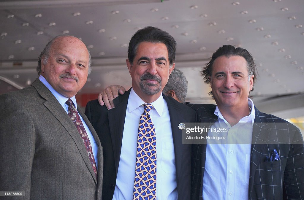 Actors <a gi-track='captionPersonalityLinkClicked' href=/galleries/search?phrase=Dennis+Franz&family=editorial&specificpeople=214579 ng-click='$event.stopPropagation()'>Dennis Franz</a>, <a gi-track='captionPersonalityLinkClicked' href=/galleries/search?phrase=Joe+Mantegna&family=editorial&specificpeople=207165 ng-click='$event.stopPropagation()'>Joe Mantegna</a> and <a gi-track='captionPersonalityLinkClicked' href=/galleries/search?phrase=Andy+Garcia&family=editorial&specificpeople=156410 ng-click='$event.stopPropagation()'>Andy Garcia</a> attend the star ceremony honoring actor <a gi-track='captionPersonalityLinkClicked' href=/galleries/search?phrase=Joe+Mantegna&family=editorial&specificpeople=207165 ng-click='$event.stopPropagation()'>Joe Mantegna</a> with the 2,438th star on the Hollywood Walk of Fame on April 29, 2011 in Hollywood, California.