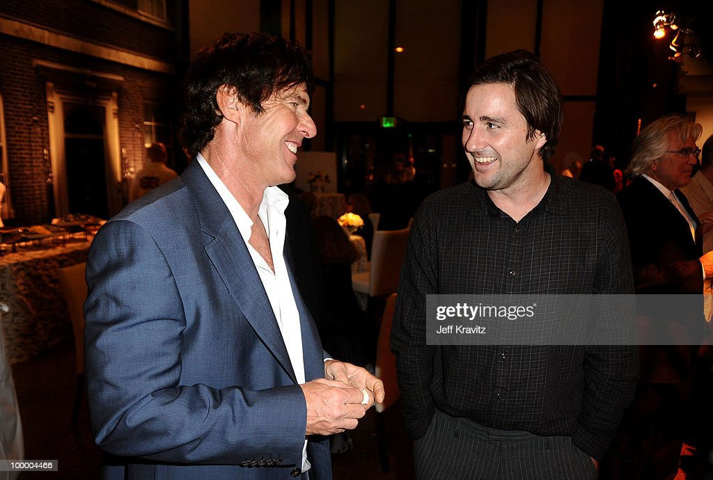 Actors Dennis Quaid and Luke Wilson attend the HBO premiere of 'The Special Relationship' after party held at Directors Guild Of America on May 19, 2010 in Los Angeles, California..