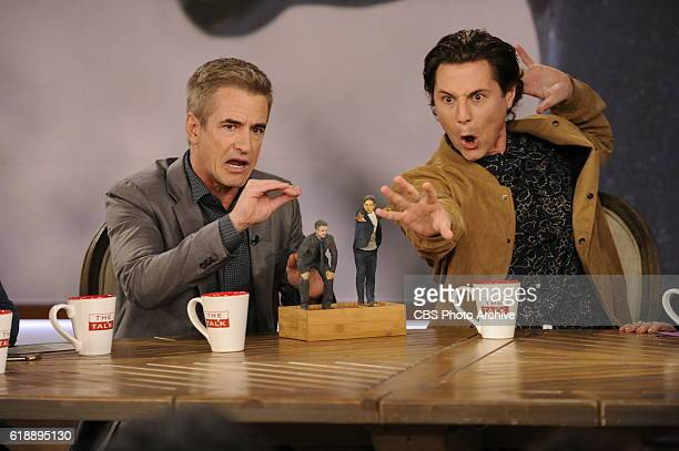 Actors Dermot Mulroney and Augustus Prew discuss their new CBS medical drama 'Pure Genius' on 'The Talk' Thursday October 27 2016 on the CBS...