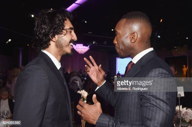 Actors Dev Patel and Mahershala Ali attend the 89th Annual Academy Awards Nominee Luncheon at The Beverly Hilton Hotel on February 6 2017 in Beverly...