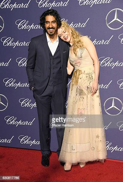 Actors Dev Patel and Nicole Kidman attend the 28th Annual Palm Springs International Film Festival Film Awards Gala at the Palm Springs Convention...