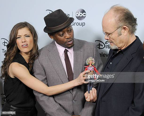 Actors Devin Kelley Omar Epps and Kurtwood Smith arrive at the ABC/Disney TCA Winter Press Tour party at The Langham Huntington Hotel and Spa on...