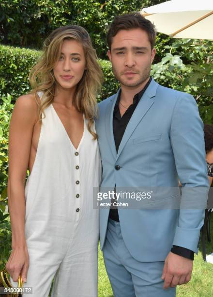 Actors Diana Hopper and Ed Westwick attend the ICM Partners PreEmmy Brunch on September 16 2017 in Santa Monica California