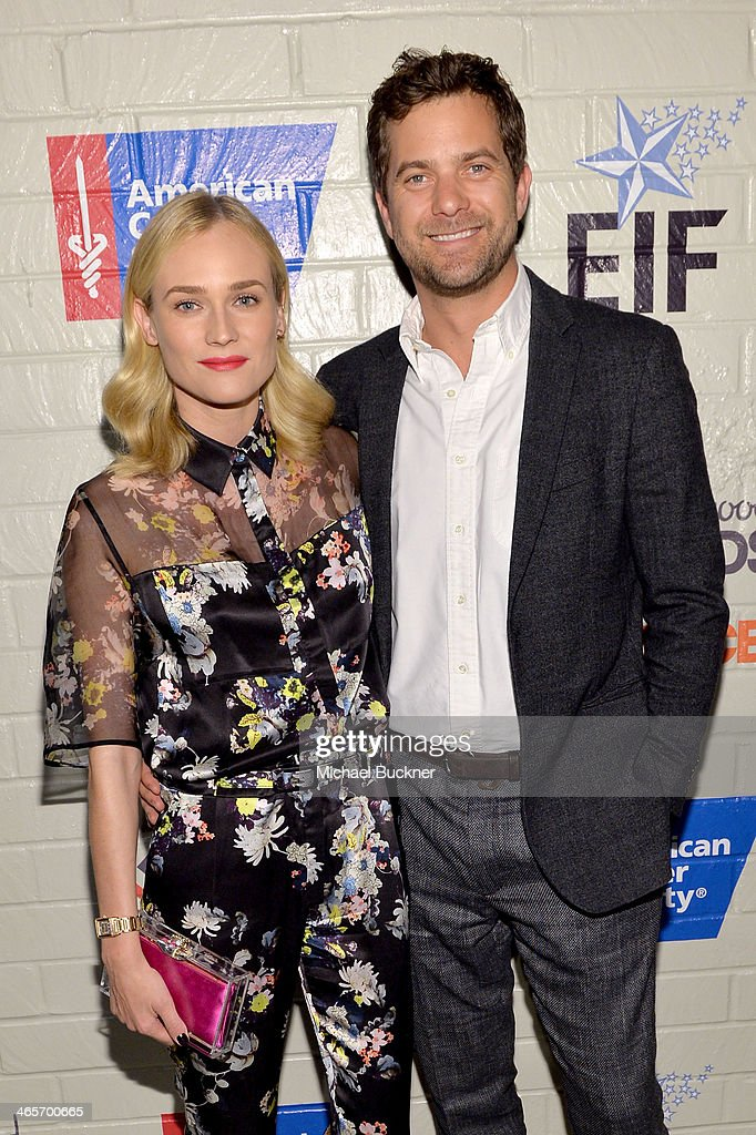Actors Diane Kruger (L) and Joshua Jackson attend Hollywood Stands Up To Cancer Event with contributors American Cancer Society and Bristol Myers Squibb hosted by Jim Toth and Reese Witherspoon and the Entertainment Industry Foundation on Tuesday, January 28, 2014 in Culver City, California.