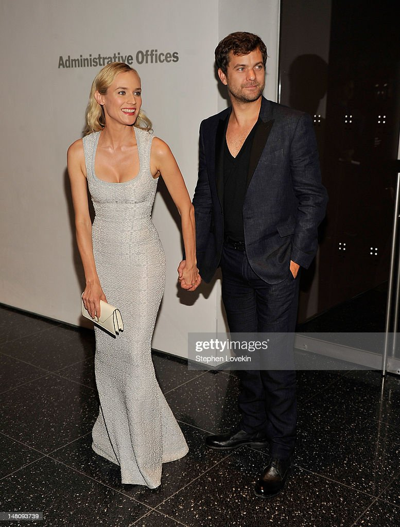Actors <a gi-track='captionPersonalityLinkClicked' href=/galleries/search?phrase=Diane+Kruger&family=editorial&specificpeople=202640 ng-click='$event.stopPropagation()'>Diane Kruger</a> and <a gi-track='captionPersonalityLinkClicked' href=/galleries/search?phrase=Joshua+Jackson+-+Actor&family=editorial&specificpeople=208160 ng-click='$event.stopPropagation()'>Joshua Jackson</a> attend the 'Farewell, My Queen' New York Screening at MOMA on July 9, 2012 in New York City.