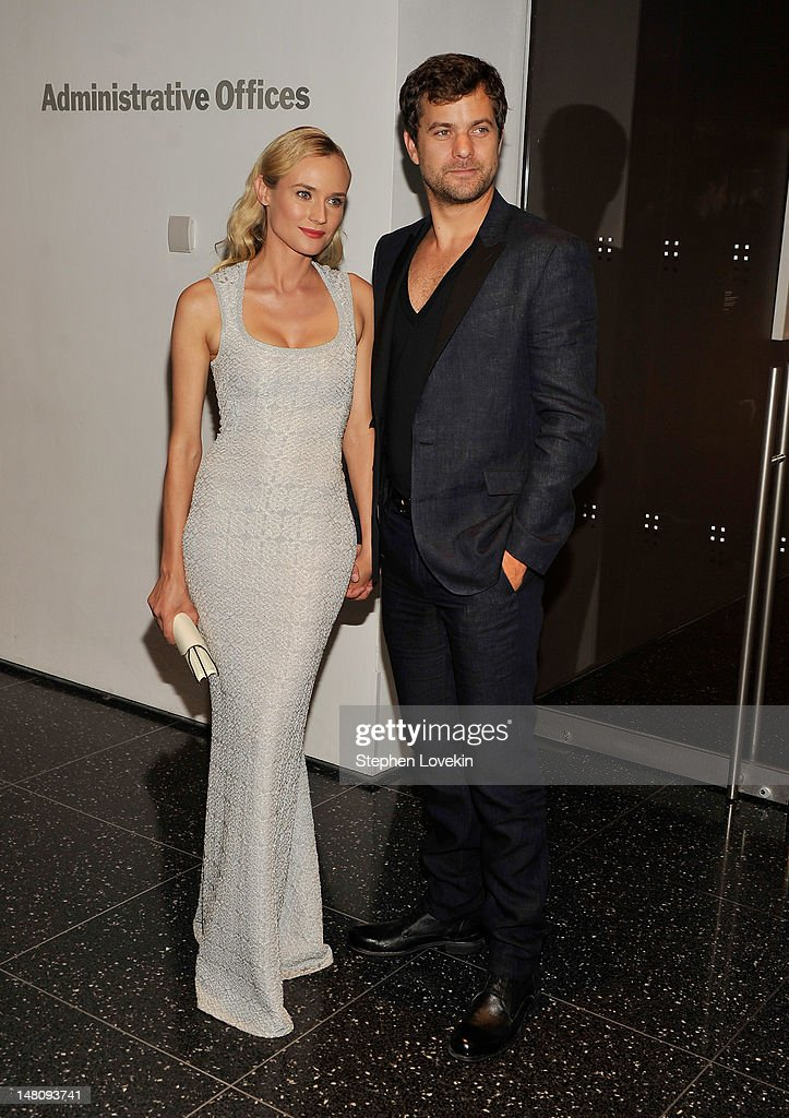 Actors Diane Kruger and Joshua Jackson attend the 'Farewell, My Queen' New York Screening at MOMA on July 9, 2012 in New York City.