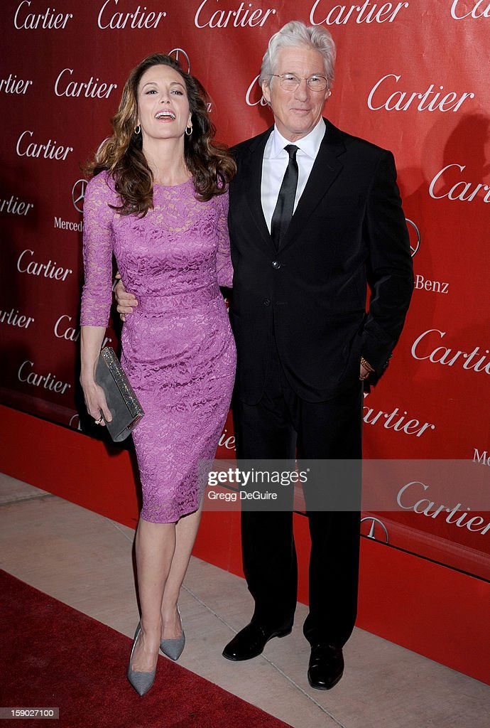 Actors <a gi-track='captionPersonalityLinkClicked' href=/galleries/search?phrase=Diane+Lane&family=editorial&specificpeople=206364 ng-click='$event.stopPropagation()'>Diane Lane</a> and <a gi-track='captionPersonalityLinkClicked' href=/galleries/search?phrase=Richard+Gere&family=editorial&specificpeople=202110 ng-click='$event.stopPropagation()'>Richard Gere</a> arrive at the 24th Annual Palm Springs International Film Festival Awards Gala at Palm Springs Convention Center on January 5, 2013 in Palm Springs, California.