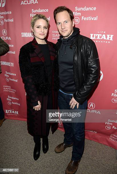 Actors Dianna Agron and Patrick Wilson attend the 'Zipper' premiere during the 2015 Sundance Film Festival on January 27 2015 in Park City Utah