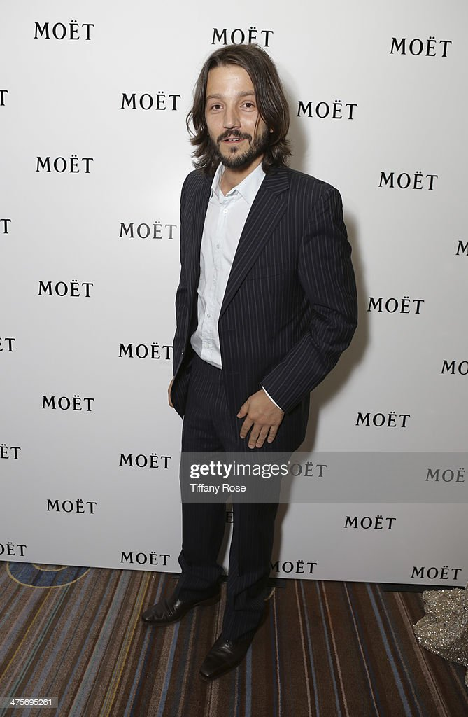 Actors Diego Luna attends Moet At The 17th Annual National Hispanic Media Coalition Impact Awards at the Beverly Wilshire Four Seasons Hotel on February 28, 2014 in Beverly Hills, California.