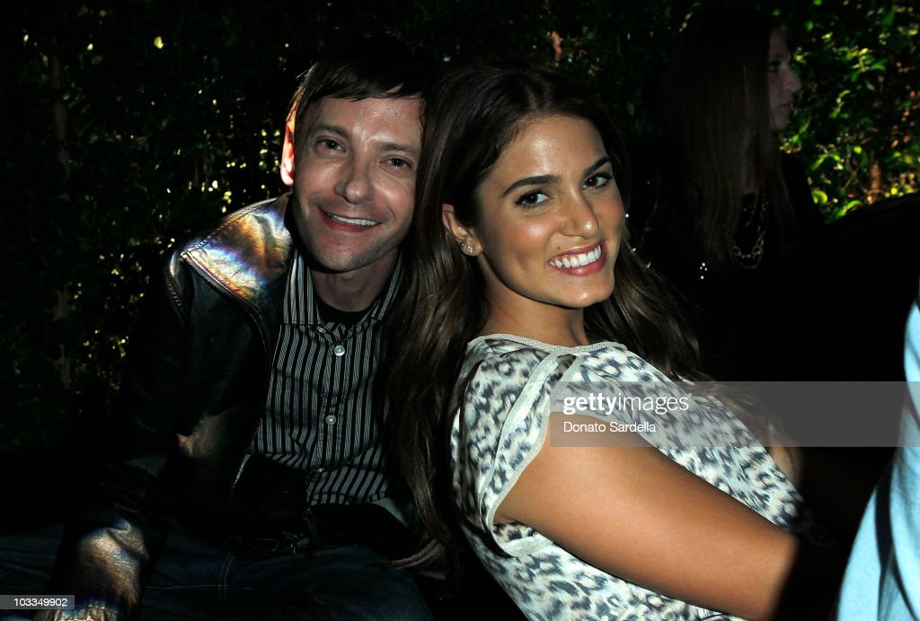 Actors DJ Qualls and Nikki Reed attend the BlackBerry Torch from AT&T U.S. Launch Party on August 11, 2010 in Los Angeles, California.