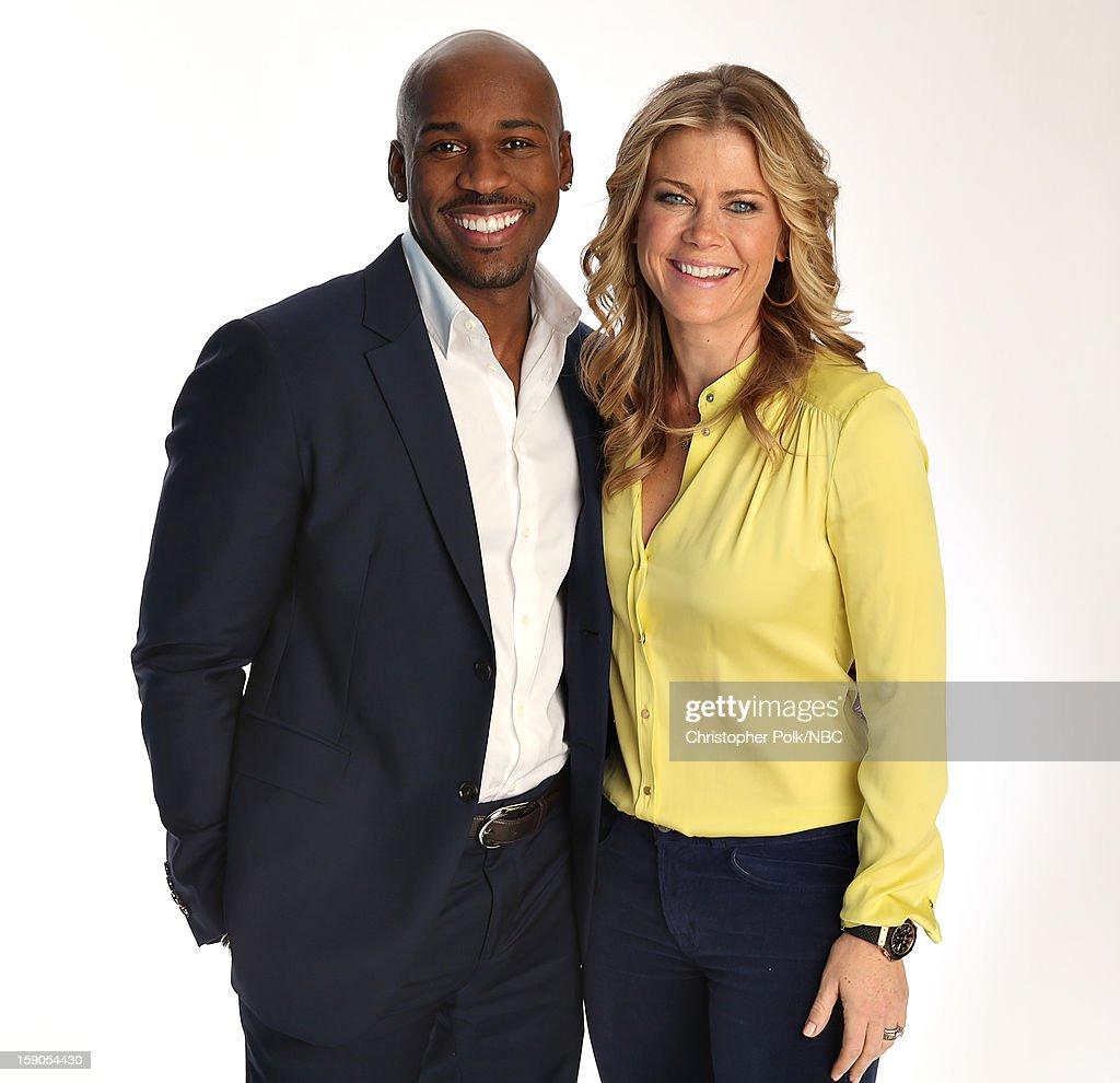 Actors Dolvett Quince and Alison Sweeney attend the NBCUniversal 2013 TCA Winter Press Tour at The Langham Huntington Hotel and Spa on January 6, 2013 in Pasadena, California.