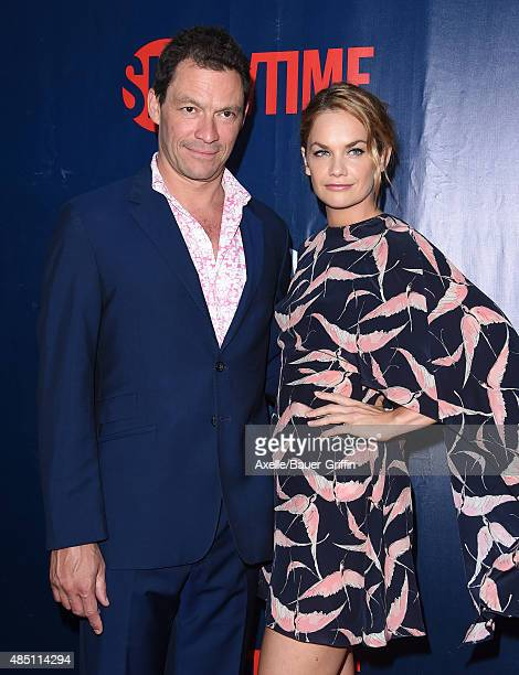 Actors Dominic West and Ruth Wilson arrive at CBS CW And Showtime 2015 Summer TCA Party at Pacific Design Center on August 10 2015 in West Hollywood...