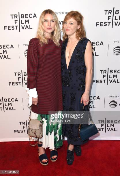 Actors Dree Hemingway and Juliet Rylance attend 'Love After Love' premiere during the 2017 Tribeca Film Festival at SVA Theatre on April 22 2017 in...