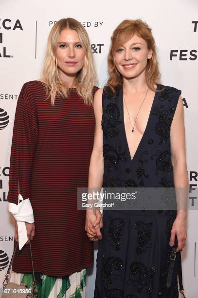 Actors Dree Hemingway and Juliet Rylance attend the 'Love After Love' screening during the 2017 Tribeca Film Festival at SVA Theatre on April 22 2017...