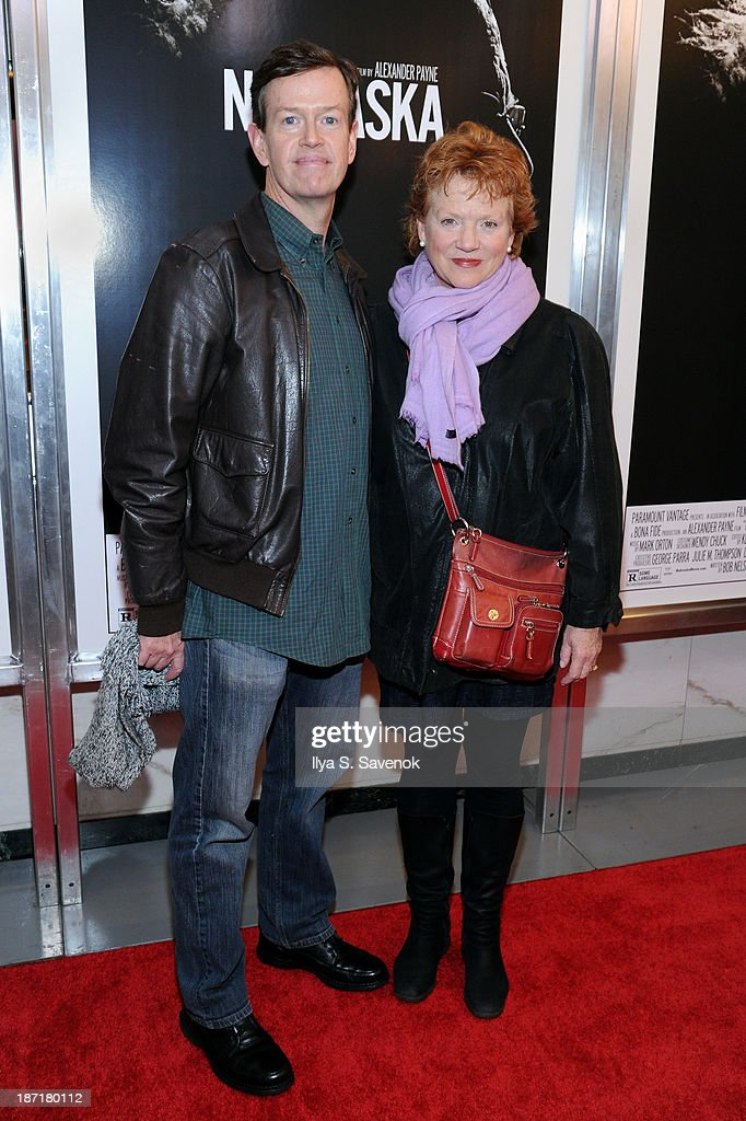 Actors <a gi-track='captionPersonalityLinkClicked' href=/galleries/search?phrase=Dylan+Baker&family=editorial&specificpeople=555989 ng-click='$event.stopPropagation()'>Dylan Baker</a> and Becky Ann Baker attend the 'Nebraska' special screening at Paris Theater on November 6, 2013 in New York City.