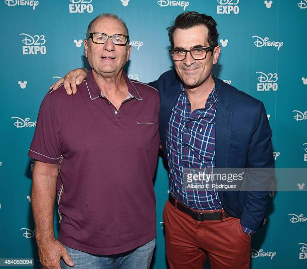 Actors Ed O'Neill and Ty Burrell of FINDING DORY took part today in 'Pixar and Walt Disney Animation Studios The Upcoming Films' presentation at...