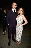 Actors Ed Skrein and Emilia Clarke attend the 2016 MTV Movie Awards at Warner Bros Studios on April 9 2016 in Burbank California MTV Movie Awards...