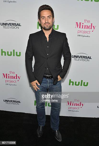 Actors Ed Weeks attends The Mindy Project 100th Episode Party at EP LP on September 9 2016 in West Hollywood California