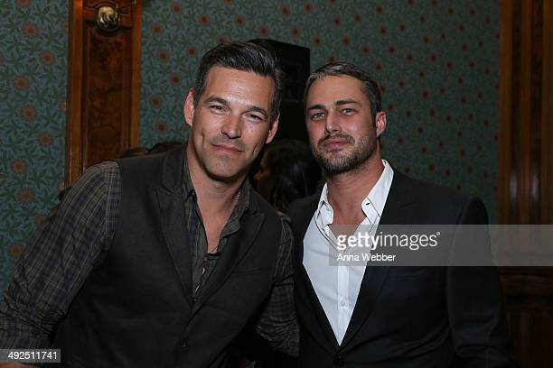 Actors Eddie Cibrian and Taylor Kinney attend BACARDI Loud Untameable LIVE Concert Event Celebrates Cuban Independence Day In Brooklyn at Weylin B...