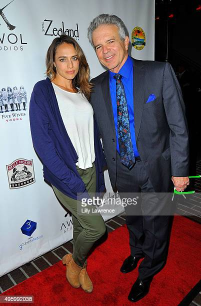 Actors Eli Jane and Tony Denison arrive at AWOL Studios launch hosted by Major Crimes star Tony Denison at LA Mother on November 5 2015 in Hollywood...