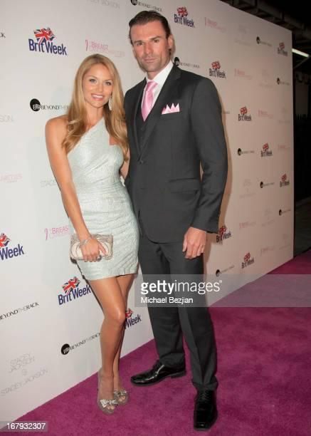 Actors Ellen Hollman and Stephen Dunlevy arrive at The Official Launch Party of Stacey Jackson's Debut Album Benefiting Breast Cancer Charities of...