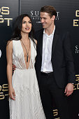 Actors Elodie Yung and Jonathan Howard attend the 'Gods Of Egypt' New York Premiere at AMC Loews Lincoln Square 13 on February 24 2016 in New York...
