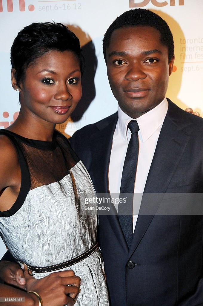 Actors Emayatzy Corinealdi (L) and David Oyelowo attend 'Middle Of Nowhere' premiere during the 2012 Toronto International Film Festival at the Scotiabank Theatre on September 12, 2012 in Toronto, Canada.