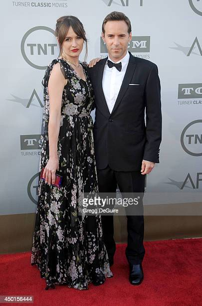 Actors Emily Mortimer and Alessandro Nivola arrive at the 2014 AFI Life Achievement Award Gala Tribute at Dolby Theatre on June 5 2014 in Hollywood...