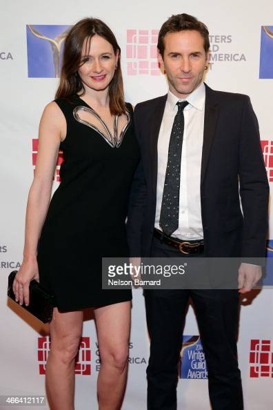 Actors Emily Mortimer and Alessandro Nivola attend The 66th Annual Writers Guild Awards East Coast Ceremony at The Edison Ballroom on February 1 2014...