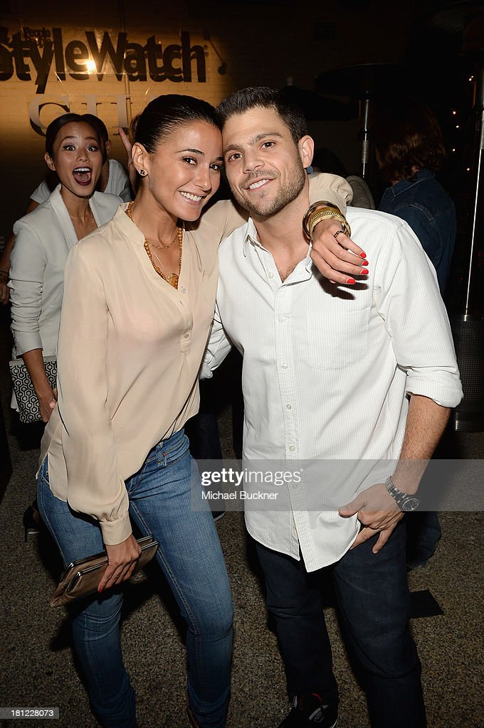 Actors <a gi-track='captionPersonalityLinkClicked' href=/galleries/search?phrase=Emmanuelle+Chriqui&family=editorial&specificpeople=541098 ng-click='$event.stopPropagation()'>Emmanuelle Chriqui</a> and <a gi-track='captionPersonalityLinkClicked' href=/galleries/search?phrase=Jerry+Ferrara&family=editorial&specificpeople=215494 ng-click='$event.stopPropagation()'>Jerry Ferrara</a> attend People StyleWatch Denim Awards presented by GILT at Palihouse on September 19, 2013 in West Hollywood, California.