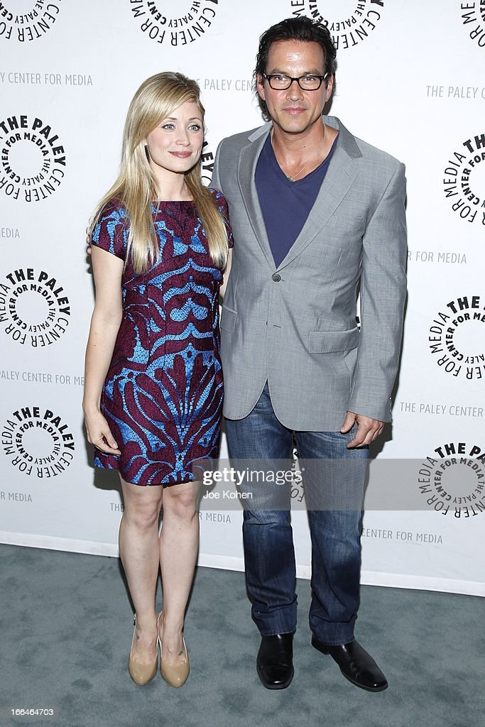 Actors Emme Rylan and Tyler Christopher attend 'General Hospital celebrating 50 years and looking forward' at The Paley Center for Media on April 12, 2013 in Beverly Hills, California.